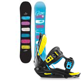 Flow Silhouette Snowboard + Haylo Bindings - Women's 2015