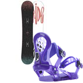 Ride Rapture Snowboard + KS Bindings - Women's 2015