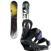 Nitro Mystique Snowboard + Burton Citizen Bindings - Women's 2015