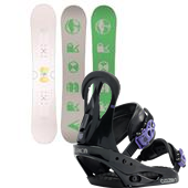 Arbor Poparazzi Snowboard + Burton Citizen Bindings - Women's 2015