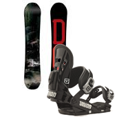 DC Ply Snowboard + Union DLX Bindings 2015