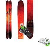 4FRNT Gaucho Skis + Attack 13 Ski Bindings 2015