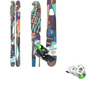 4FRNT Madonna Skis - Women's 2015 + Attack 13 Ski Bindings 2015