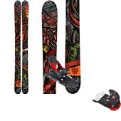 4FRNT Devastator LTD Skis + Attack 16 Ski Bindings 2015