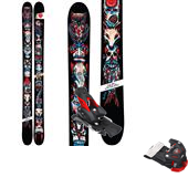 4FRNT YLE Skis + Attack 16 Ski Bindings 2015