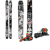 Moment Underworld Skis + G3 ION Alpine Touring Bindings 2015
