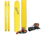 DPS Wailer 112RP.2 Pure3 Skis + G3 ION Alpine Touring Bindings 2015