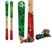 Volkl Nunataq Skis + G3 ION Alpine Touring Bindings 2015