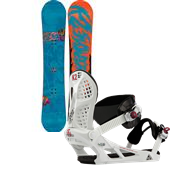 K2 Hit Machine Snowboard + Indy Bindings 2014