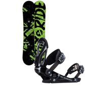 Ride Agenda Snowboard + EX Bindings 2014