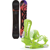K2 Subculture Snowboard + Union Atlas Bindings 2014