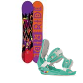 Ride OMG Snowboard + Flow Gem Bindings - Women's 2014