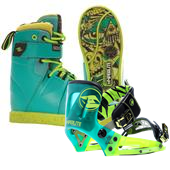 Hyperlite Process Wakeboard Boots + System Bindings 2015