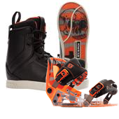 Byerly System Wakeboard Boots + System Bindings 2015