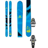 Salomon Rocker2 100 Skis + STH 12 Oversize Ski Bindings 2015