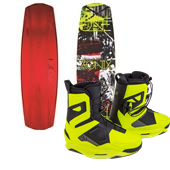 Ronix One ATR Carbon Wakeboard + One Wakeboard Bindings 2015