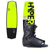 Hyperlite Marek Bio Wakeboard + Team OT Wakeboard Bindings 2014