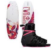 CWB Lotus Wakeboard 2013 + Hyperlite Syn Wakeboard Bindings - Women's 2013