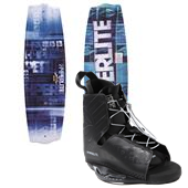 Hyperlite State 2.0 Wakeboard  + Frequency Wakeboard Bindings