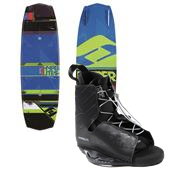 Hyperlite Forefront Wakeboard + Hyperlite Frequency Wakeboard Bindings