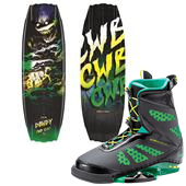 CWB Dowdy Wakeboard + MD Wakeboard Bindings 2015