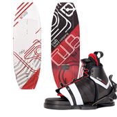 CWB Absolute Wakeboard + Edge Wakeboard Bindings 2015
