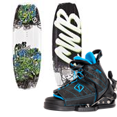 CWB Charger Wakeboard - Big Boys' + Tyke Wakeboard Bindings - Big Boys' 2015