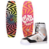 CWB Jive Wakeboard + Prizm Wakeboard Bindings 2015