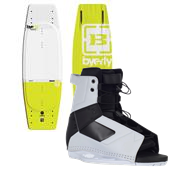 Byerly Wakeboards AR-1 Wakeboard + Byerly Wakeboards Standard Wakeboard Bindings
