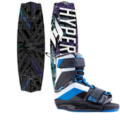 Hyperlite Tribute Wakeboard + Hyperlite Focus Wakeboard Bindings