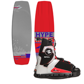 Hyperlite Webb Wakeboard + Hyperlite Spin Wakeboard Bindings