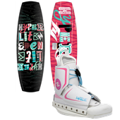 Hyperlite Eden Wakeboard + Hyperlite Allure Wakeboard Bindings - Women's
