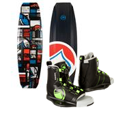 Liquid Force Tex Wakeboard + Liquid Force Index Wakeboard Bindings
