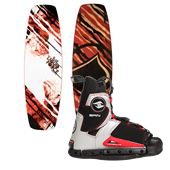 Liquid Force Slab Wakeboard + Hyperlite Spin Wakeboard Bindings