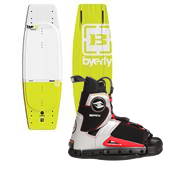 Byerly Wakeboards AR-1 Wakeboard + Hyperlite Spin Wakeboard Bindings