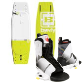 Byerly Wakeboards AR-1 Wakeboard + Liquid Force Transit Wakeboard Bindings