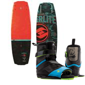 Hyperlite Franchise Wakeboard + Focus Wakeboard Bindings 2015
