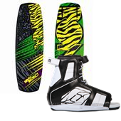 Ronix District Park Wakeboard + Hyperlite Remix Wakeboard Bindings