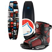 Liquid Force Tex Wakeboard + Slingshot Option Open Toe Wakeboard Bindings
