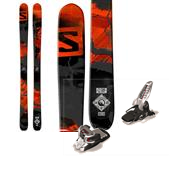 Salomon Q-98 Skis + Marker Griffon Ski Bindings 2015