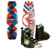 Liquid Force Fusion Wakeboard + Index Wakeboard Bindings