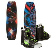 Liquid Force Fusion Grind Wakeboard + Liquid Force Index Wakeboard Bindings