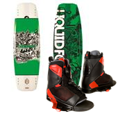 Liquid Force Deluxe Wakeboard + Liquid Force Transit Wakeboard Bindings