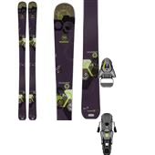 Rossignol Temptation 100 Skis - Women's 2015 + Salomon STH 12 Oversize Ski Bindings 2015