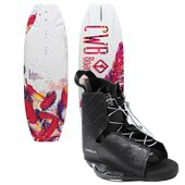 CWB Lotus Wakeboard + Hyperlite Frequency Bindings - Women's