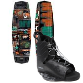Hyperlite Clash Wakeboard + Frequency Bindings