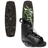 Hyperlite Franchise Wakeboard + Frequency Bindings