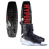 Hyperlite State Wakeboard 2013 + Hyperlite Remix Wakeboard Bindings 2014