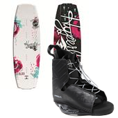 Hyperlite Maiden Wakeboard + Frequency Bindings - Women's