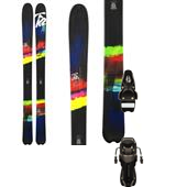 K2 SuperBright 102 Skis - Women's + Rossignol Axial2 100 XL Ski Bindings